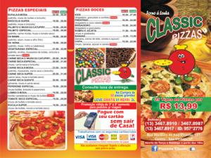 Flyers - Pizzarias, Deliverys e Restaurantes - Classic