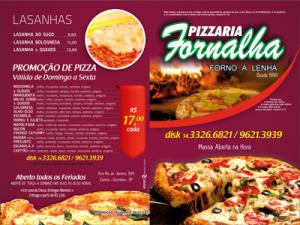Flyers - Pizzarias, Deliverys e Restaurantes - Foralha