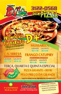 Folhetos - Pizzarias, Deliverys e Restaurantes - D+