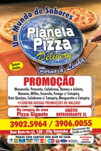 Folhetos - Pizzarias, Deliverys e Restaurantes - Planeta